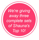 All Under $25! We're giving away three complete sets of Shauna's Top 10! Enter Here!